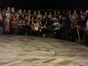 rona elliot yoko ono in Iceland