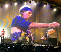 Rona Elliot Keith Richards May 20 LA