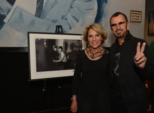 Rona Elliot with Ringo Starr