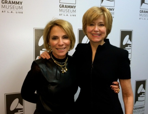Rona Ellit and Jane Pauley