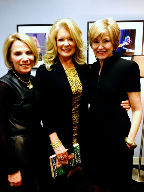 Rona Elliot, Mary Hart and Jane Pauley