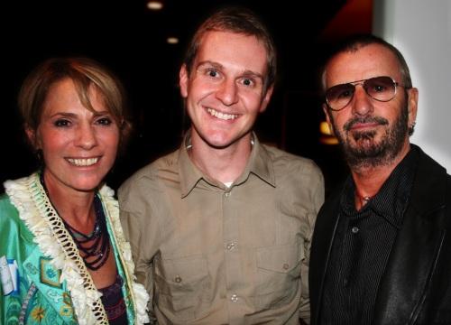 Rona Elliot, Nick Roylance & Ringo Starr